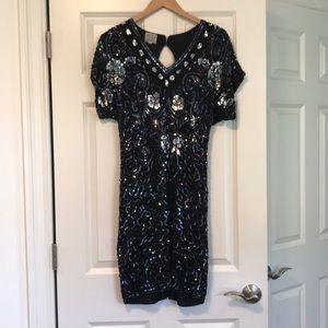 Little Black Sequence Dress!